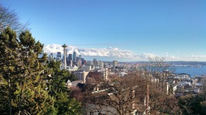 View of the Space Needle from Kerry Park.